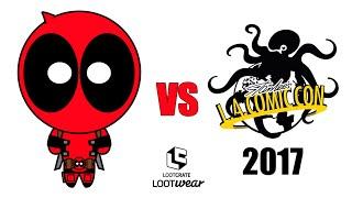 Deadpool vs Los Angeles Comic Con 2017