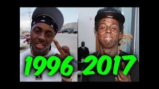 Reacting to The Evolution of Lil Wayne
