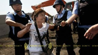 Chinese residents fight for their rights