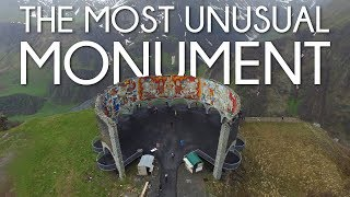 THE MOST UNUSUAL MONUMENT in GEORGIA - Cinematic travel Vlog by Tolt #4