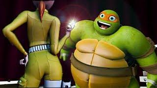 Teenage Mutant Ninja Turtles Legends - APRIL'S SPACE SUIT & FATTY NINJA TURTLE