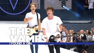 The Vamps - 'I Found A Girl' (Live At The Summertime Ball 2016)