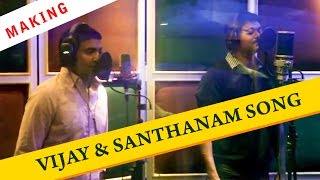 Vaanganna Vanakkanganna Song Making | Vijay | Santhanam | GV Prakash Kumar | Thalaivaa | ON THE SET