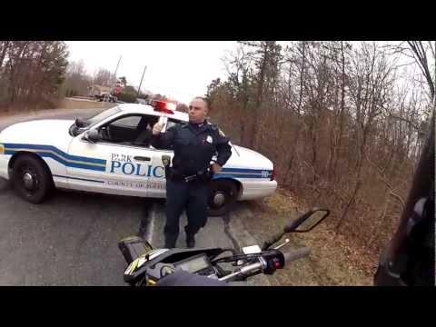 Naughty police