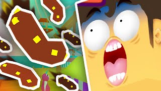 THE POO GAME 2!! | Muddy Heights 2