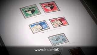 I francobolli dei mitici anni