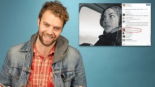 Brooks Wheelan Reads Your Insane Celebrity Instagram Comments
