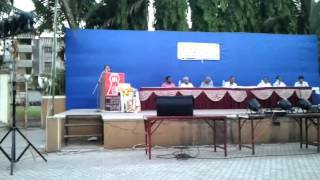Hemlata Kishorbhai Kansara - Surati Kansara Samaj Speech