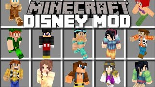 Minecraft DISNEY MOD / HELP THEM HIDE FROM ANDY IN TOY STORY!! Minecraft