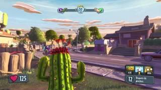 Gran Cactus, Mejor Planta!!   PLANTAS VS ZOMBIES: GARDEN WARFARE   Duelo Por Equipos (XBOX ONE)