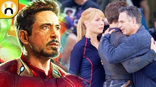 Avengers 4 Set Photos Reveal HUGE Iron Man Spoilers