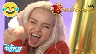 Descendants 2 | Dove Cameron & Thomas Doherty Live Stream Highlights 😂 | Official Disney Channel UK