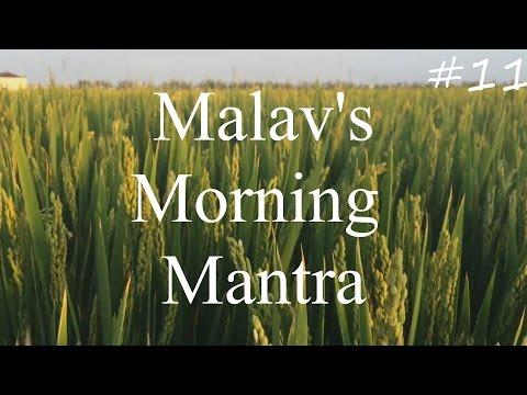 Malav's Morning Mantra | Uttarayan | Pongal | Kites | 14 January, 2017