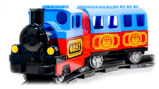 TRAINS FOR CHILDREN VIDEO: LEGO Duplo Train 10507 My First Train Set Toys Review