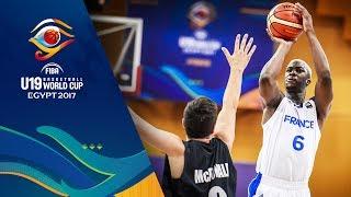 France v New Zealand - Live - FIBA U19 Basketball World Cup 2017