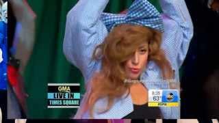 Lady Gaga - Applause Live On GMA (Oz Style) HD