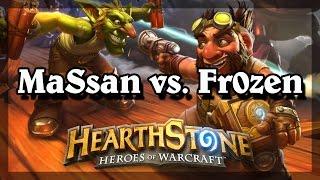 Hearthstone - MaSsan vs. Fr0zen (1st NA, 2nd World Rank Player)