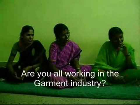 a documentary garment factory workers in bangalore