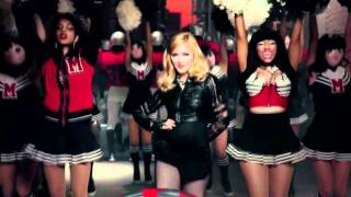 Madonna Nicki Minaj M.I.A. LMFAO - Give Me All Your Luvin' (BabieBoyBlew Meets Party Rock Remix)