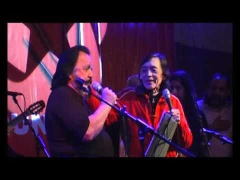 Horacio Guarany y Daniel Toro en Canto Popular.wmv