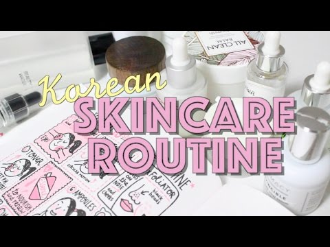☀️ 10 Step Korean Skincare Routine for Acne + Dry Skin 🌙