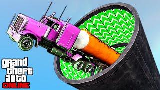 GTA 5: Online - Stunts, Funny Moments & Fails feat. New DLC Content (Cunning Stunts)
