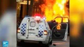 تسجيل مصور يظهر لحظة تنفيذ هجوم ملبورن في أستراليا