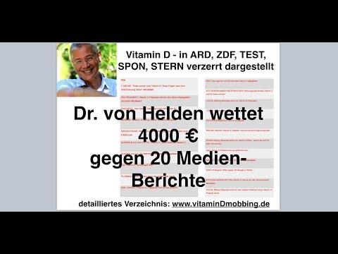 Xxx Mp4 Vitamin D In ARD ZDF TEST SPON STERN Verzerrt Dr Von Helden Wettet Dagegen 3gp Sex