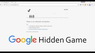 Chrome Hidden Game | Google Hidden Games | Dinosaur game