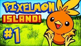 Minecraft PIXELMON Island - Ep #1 w/ Ali-A! -