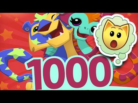 1,000 BUDDY SPACES ON ANIMAL JAM?!