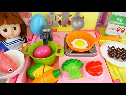 Xxx Mp4 Baby Doll Kitchen Cart Food Cooking Toys Baby Doli Play 3gp Sex