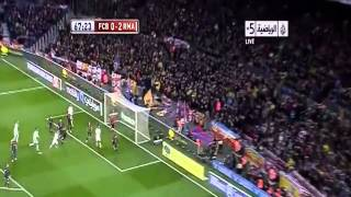 أهداف ريال مدريد وبرشلونة 3-1 [26-2-2013][رؤوف خليف] كاس الملك