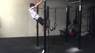 Kipping pull ups for beginners