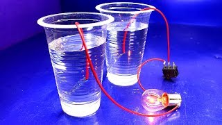 Free Energy Experiment Using Sulfuric Acid - New Technology Science Experiment