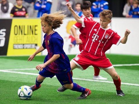 Europas beste U15-Fußballer - MTU-Cup 2017   FC Barcelona, ManUnited, FC Bayern, AC Milan, Ajax..