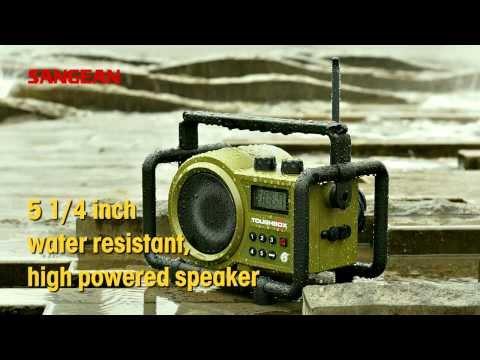 Sangean Utility / Worksite Radios【LUNCHBOX(LB-100)、TOUGHBOX(TB-100)】