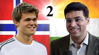 Game 2 - 2014 World Chess Championship - Magnus Carlsen vs Viswanathan Anand