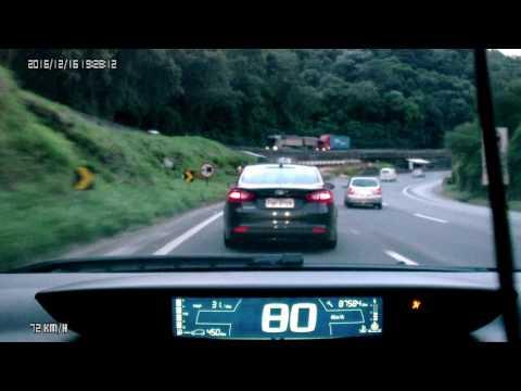 Br 381 rumo a PE antes do túnel