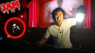 Exploring an Abandoned Movie Theatre at 3AM!