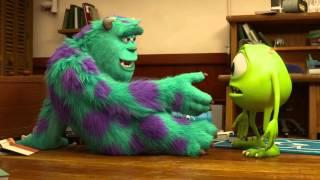 Μπαμπούλες Πανεπιστημίου / Monsters University 3D (2013) - Trailer #2 HD Μεταγλωτισμένο