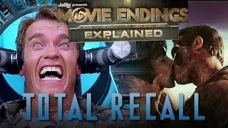 Movie Endings Explained - TOTAL RECALL (1990) Arnold Schwarzenegger, Paul Verhoeven sci-fi action