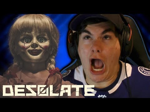 ANNABELLE IS THAT YOU?! Desolate Gameplay Part 1!