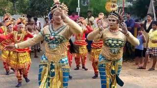 Naga Dance in Kerala festivals