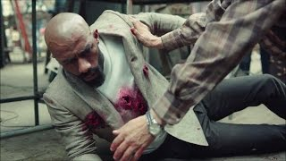 مشهد قتل رفاعي الدسوقي - مسلسل الاسطورة / محمد رمضان