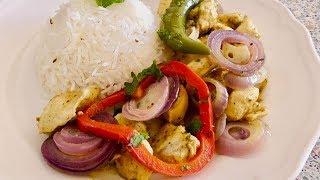 Simple Chicken Do Pyaza - Chicken Tenderloins