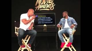 The Rock and Kevin Hart Funny Live Show 2016