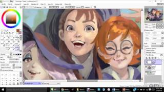 The Little Witch Academia Speed Paint