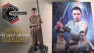 Star Wars The Force Awakens Hot Toys Rey (Jakku/Starkiller Base) MMS336 Review