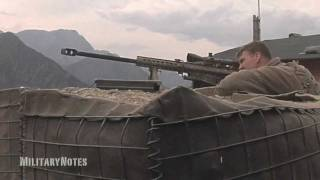 Hunting for Taliban - Barrett M107 .50 BMG Rifle & Mk211 RAUFOSS
